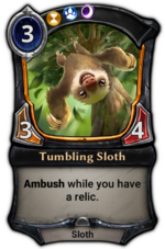 Tumbling Sloth