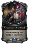 Chairman's Contract