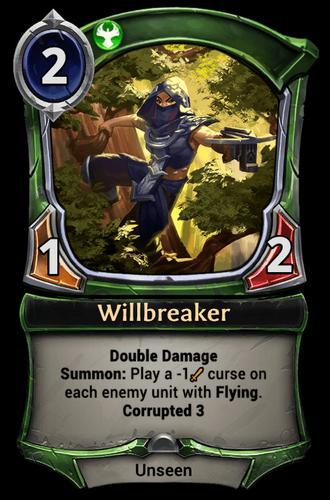 Willbreaker card