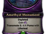 Amethyst Monument