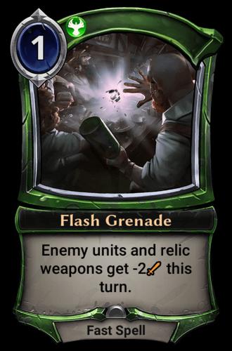 Flash Grenade card