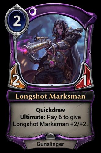 Longshot Marksman card