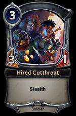 Hired Cutthroat