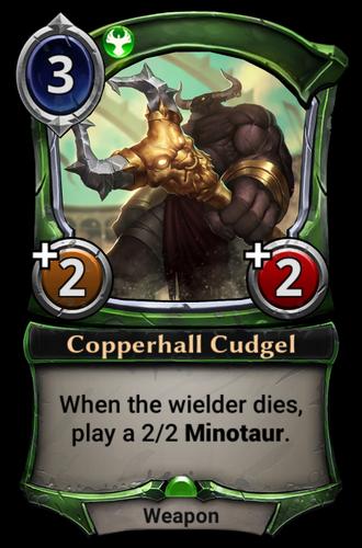Copperhall Cudgel card