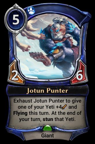 Jotun Punter card
