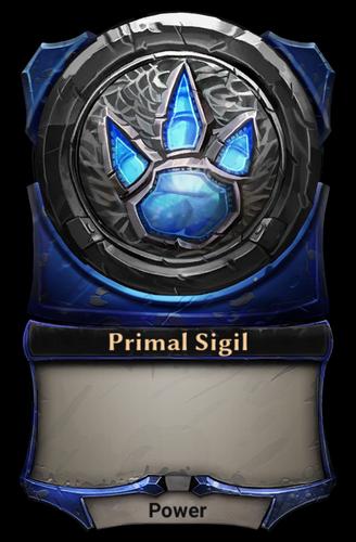 Primal Sigil card