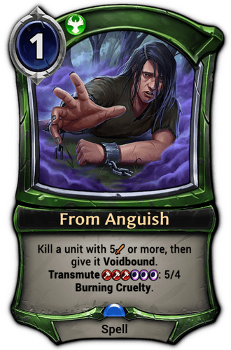 From Anguish card