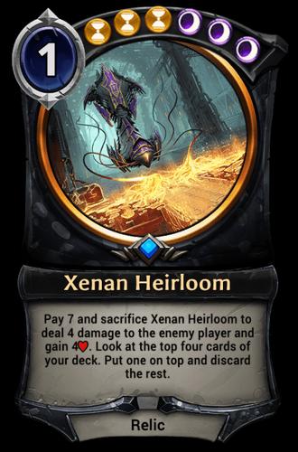 Xenan Heirloom card