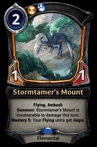 Stormtamer's Mount card