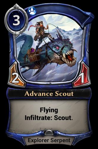 Advance Scout card