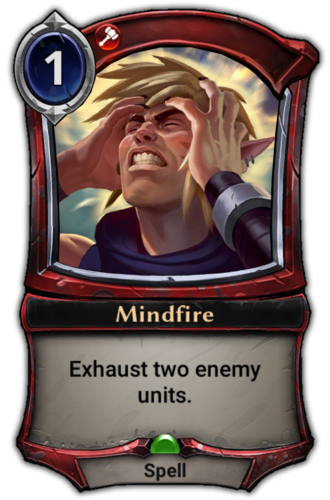 Mindfire card