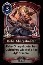 Rebel Sharpshooter