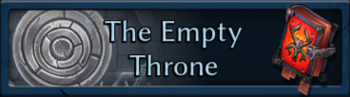 The Empty Throne