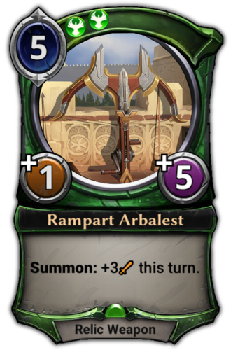 Rampart Arbalest card