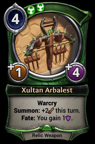 Xultan Arbalest card