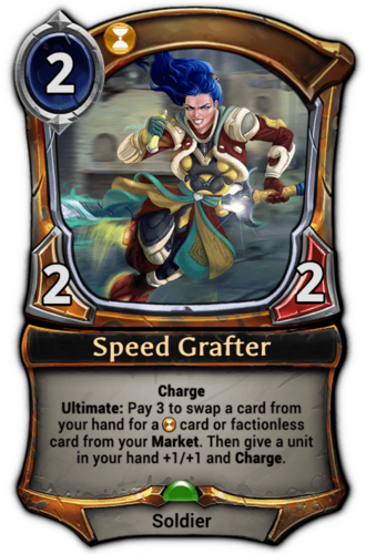 Speed Grafter card