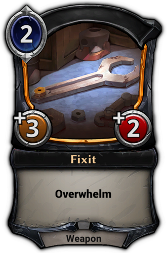 Fixit card