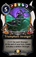 Triumphant Stranger