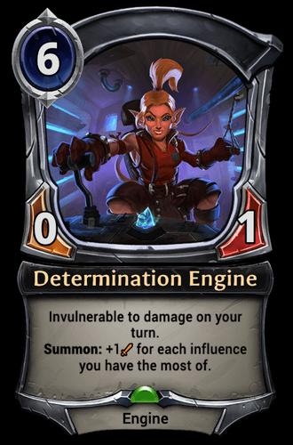 Determination Engine card