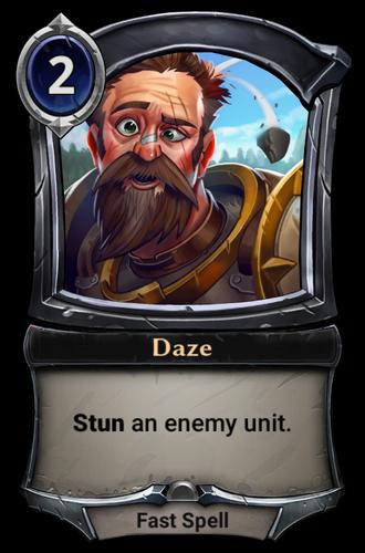Daze card