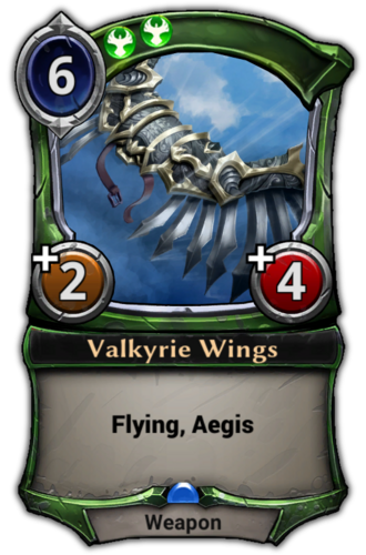 Valkyrie Wings card