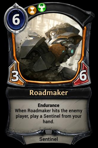 Roadmaker card