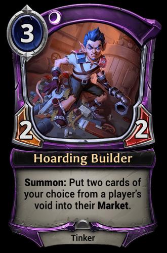 Hoarding Builder card