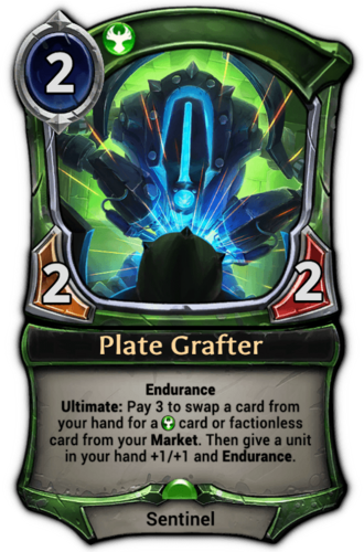 Plate Grafter card