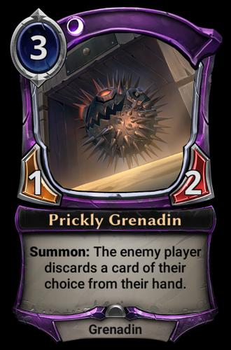 Prickly Grenadin card