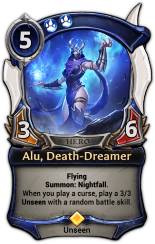 Alu, Death-Dreamer card