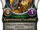 Experimental Forcefield