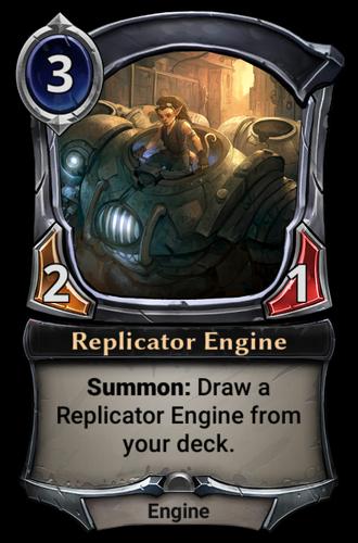 Replicator Engine card