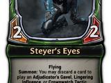 Steyer's Eyes