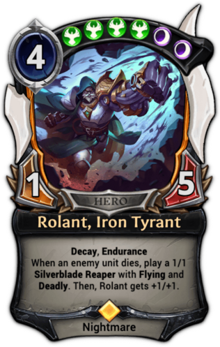 Rolant, Iron Tyrant card