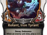 Rolant, Iron Tyrant