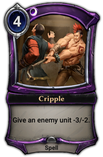 Cripple card