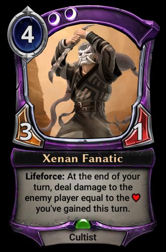 Xenan Fanatic card