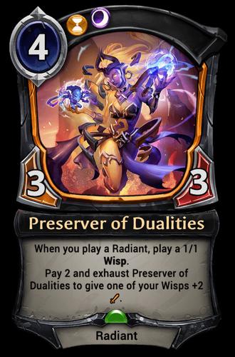 Preserver of Dualities card