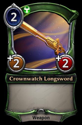 Crownwatch Longsword card