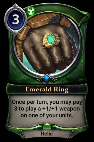 Emerald Ring card