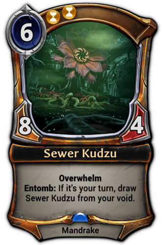 Sewer Kudzu card