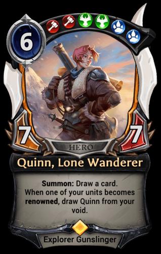 Quinn, Lone Wanderer card