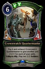 Crownwatch Quartermaster