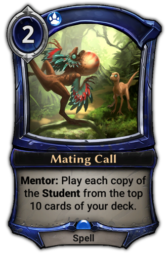 Mating Call card