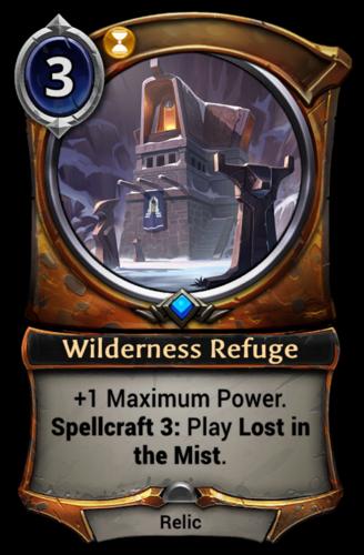 Wilderness Refuge card