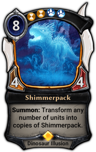 Shimmerpack card
