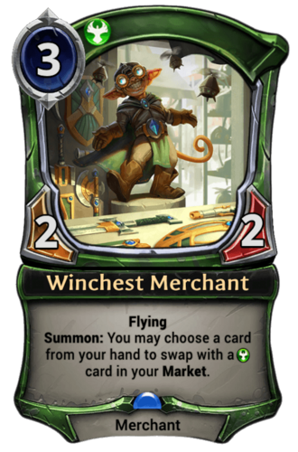 Winchest Merchant card