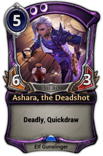 Ashara, the Deadshot card
