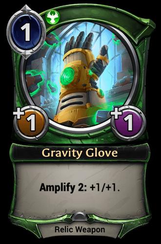 Gravity Glove card