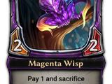 Magenta Wisp
